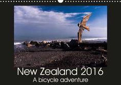 New Zealand 2016 - A bike adventure - CALVENDO Travel Around The World, Around The Worlds, Photo Calendar, New Zealand, Bike, Adventure, Movie Posters, Movies, Art