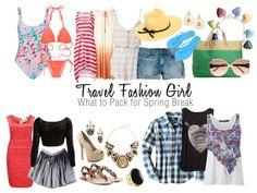 Student Spring Break Packing List via TravelFashionGirl.com #travel #outfits