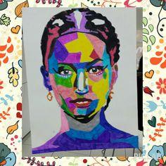 #popart #fromTurkey #madebyme #jenniferlawrence #hungergames #katnisseverdeen #art #colors