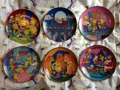 The Simpsons Franklin Mint plates