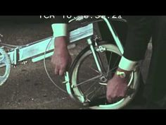 ▶ Harry Bickerton and Bickerton Portable Bicycle - YouTube