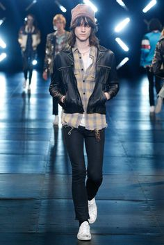 Saint Laurent Spring 2016 Menswear