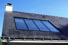 Futuristic Architecture, Architecture Design, Roof Extension, Glass Roof, New Home Designs, Facade, Design Art, Solar, New Homes