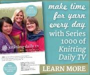 Order the newest series of Knitting Daily TV today!