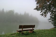 Die Isar am Morgen  - #Nebel am #Fluss im #Herbst
