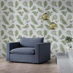 Tempaper Sage Fern Removable Wallpaper