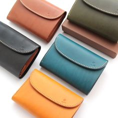 MOTO 3つ折り LEATHER LONG WALLET W-6