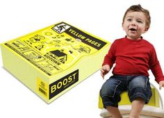 Yellow Pages Car Seat