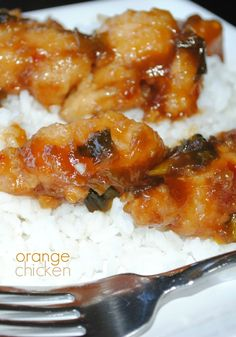 Orange Chicken recipe- better than takeout!