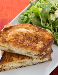 This brie and pear grilled cheese is an easy-to-prepare celebration of the flavors of autumn that's as comforting as it is gourmet.