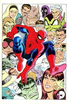 Spider-Man - Friends & Foes by John Romita Sr. *
