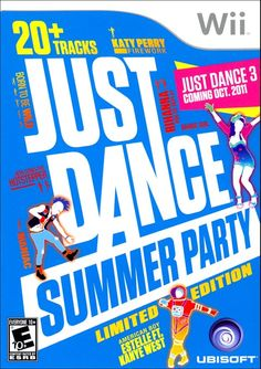 Just Dance Summer Party Wii Video Game | Buy Just Dance Summer Party for Wii | Rent Just Dance Summer Party - www.gamefly.com