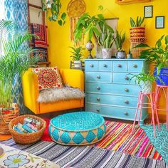 At whatever point we start to enhance our home in bohemian style house stylistic. - At whatever point we start to enhance our home in bohemian style house stylistic… – - Gypsy Home Decor, Hippie House Decor, Living Room Decor, Bedroom Decor, Eclectic Living Room, Deco Retro, Boho Room, Gypsy Room, My New Room