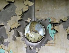 melted clock, Cass Tech
