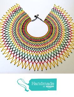 African Beads Necklace, Beaded Necklace Patterns, African Jewelry, Beaded Jewelry, Beaded Necklaces, Beading Projects, Beading Tutorials, Zulu Wedding, Native Beading Patterns