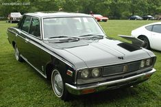The 1971 Toyota Crown represents the last Crown series sold in the U.S. Description from conceptcarz.com. I searched for this on bing.com/images