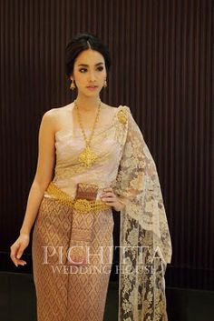 thai lavender wedding dress | Wedding | Pinterest | Thai wedding ...