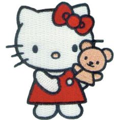 Application Hello Kitty Puppet Patch -- Read more  at the image link.Note:It is affiliate link to Amazon.