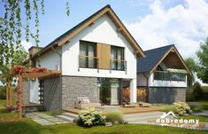 Malachit - Dobre Domy Flak & Abramowicz Home Fashion, Home And Garden, House Design, Cabin, How To Plan, House Styles, Home Decor, Ideas, Malachite