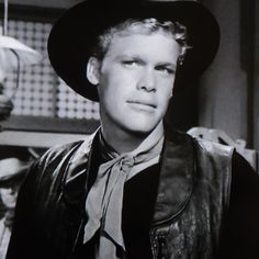 """Doug McClure (1935-1995) known for playing 'Trampas' on """"The Virginian."""" """"Mr. Denton On Doomsday"""" (1959)"""