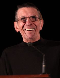Leonard Simon Nimoy March 1931 – February 2015 was an American actor, film director, poet, singer and photographer. Nimoy was best known for his role as Spock in the original Star Trek series and in multiple film, television and video game sequels. Star Trek 2009, Star Trek Series, Star Trek Tos, Leonard Nimoy, Fringe Tv Series, Terry Farrell, Angus Young, Perry Mason, Showgirls