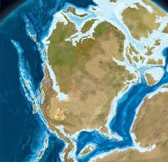 North America, 150 million years ago