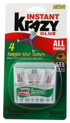 Marahuty: Single use tubes are great for wound closures .. then discard. I've used this in place of having stitches for years.  Krazy Glue for Your First Aid Supplies
