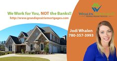 We are your Devoted Loyal Grande Prairie Mortgage Brokers with the Lowest Mortgage made simple. Pre-Approvals in only 20 minutes. Lowest Mortgage Rates, Shop Around, First Time Home Buyers, Extra Cash, House Prices, Banks, Trust, Work On Yourself, Bb