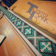 Beaded belt strip - Be sure to check out Twisted Rank Beadwork on Facebook!