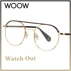 ⚠ WATCH OUT ⚠⠀⠀ How about tortoise and Gold?  Watch Out 3 col.901 If you love the concept like it with: 👍🏻⠀ __________ #WOOWEYEWEAR⠀#WOOWyourLife __________  #woow #frames #designer #paris #handmade #instaglasses #metalframe #instaglasses #fashion #accessories #glasses #design #eyewear #lunettesdevue #montures #lunettes #glassesporn #Watchout