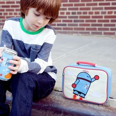 Alexander the Robot Lunch Box: Official Beatrix New York Site