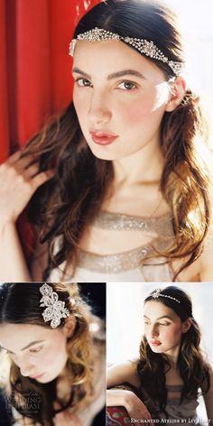 enchanted atelier by liv hart 2015 headband veil tiara halo comb