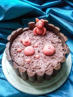 Schweinchen-im-Matsch Kuchen - LECKER&Co | Foodblog aus Nürnberg