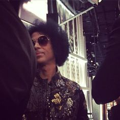 UP CLOSE WITH PRINCE