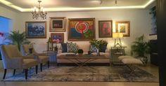 Sala en Panama por Priscilla Conte.   #sala #panama #priscillaconte