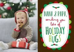 Hugs for You - Christmas Greeting Cards in Truffle | Magnolia Press