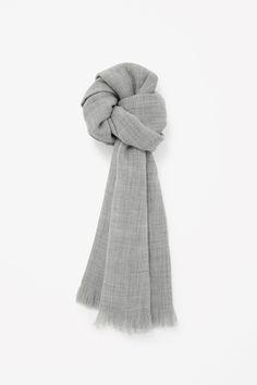 COS   Wool melange scarf