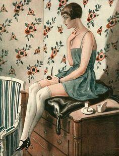 George Pavis | Illustration For La Vie Parisienne 1920s