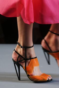 Do you like these abstract womens Fendi heels?