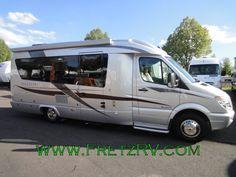 Leisure Travel Class B Tiny Trailers, Travel Trailers, Class B Motorhomes, Leisure Travel Vans, Class B Rv, Sprinter Van Conversion, Mini Camper, Rv Living, Campervan