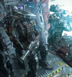 ArtStation - Bots in action, GINO STRATOLAT
