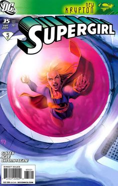 Cover for Supergirl (DC, January 2009) #35 [Stephane Roux Limited Variant]