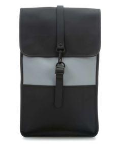 6129c77d43ba2 Rains Laptop-Rucksack 14″ schwarz grau Preview