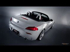 2011 MWDesign BMW Z4 White Flame - Rear Angle Tilt