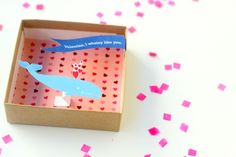 So in love with this idea! Pop-up Valentines (with a free printable)