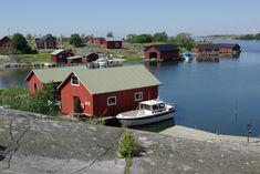Nähtävyydet | Saariston Rengastie Archipelago, Finland, Cabin, House Styles, Home Decor, Decoration Home, Room Decor, Cabins, Cottage