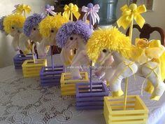 Horse Carousel Centerpiece by designsbyemilys on Etsy