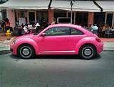 Image detail for -Pink Volkswagen Beetle