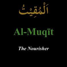 """""""Al-Muqit"""""""