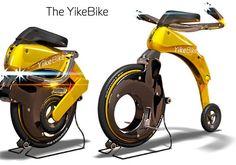 Pesando apenas 11,5 kg a YikeBike é a menor bicicleta dobrável elétrica do mundo. Com a capacidade de dobrar ou desdobrar-se em apenas 15 segundos e viagens em 23km/hr ...
